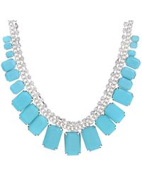 Jane Norman Gem and Diamante Necklace - Lyst