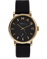 Marc Jacobs - Baker Gold Tone Watch - Lyst