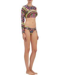Mara Hoffman Supernova Ruched Bikini Bottom - Lyst