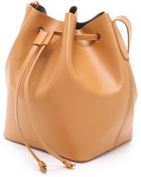 Rachael Ruddick | Beach Bucket Bag - Tan | Lyst