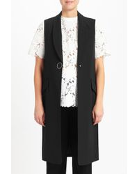 Alexander Wang | Slim Cut Long Vest | Lyst