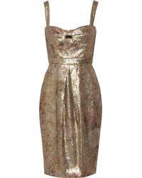 Burberry Prorsum Sequined Woven Dress - Lyst