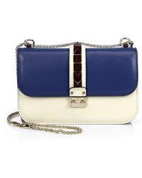 Valentino Lock Multicolor Shoulder Bag - Lyst