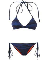 Preen Novak Camouflageprint Bikini - Lyst