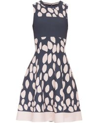 Issa Jacquard Bay Dress - Lyst