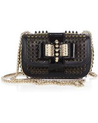 Christian Louboutin Studded Sweety Charity Shoulder Bag - Lyst