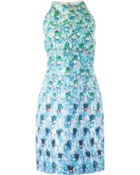 Mary Katrantzou Blue Riley Dress - Lyst