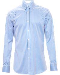 Alexander McQueen Striped Holster Shirt - Lyst