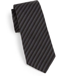 Theory Roadster Degremont Striped Tie - Lyst