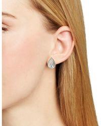 Anna Beck - Teardrop Stud Earrings - Lyst