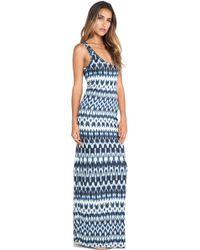 Velvet By Graham & Spencer Antoinette Summer Ikat Maxi - Lyst