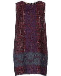Dolce & Gabbana B Short Dress - Lyst