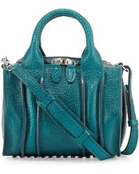 Alexander Wang Rockie Inside-out Small Crossbody Satchel Bag - Lyst