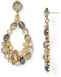Kate Spade Bashful Blossom Statement Chandelier Earrings - Lyst