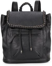Kensie - Chain-trimmed Faux Leather Backpack - Lyst