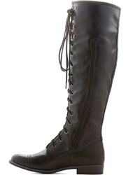 ModCloth Chocolate Craving Boot in Black - Lyst