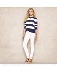 Ralph Lauren Blue Label - Striped Sweatshirt - Lyst