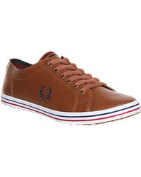 Fred Perry Kingston Leather - Lyst