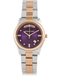 Michael Kors Colette Two-tone Stainless Steel Watch - Lyst