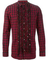 Diesel Red 'S-Multir' Shirt - Lyst
