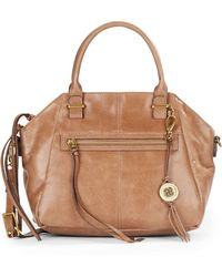 Elliott Lucca - Faro Leather Satchel - Lyst