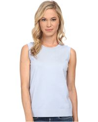Pendleton Petite Sleeveless Shell Pc083 blue - Lyst