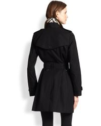 Burberry London Double-Breasted Buckingham Trench - Lyst