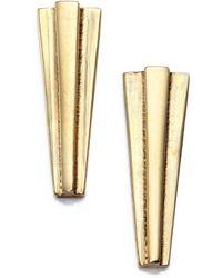 Aesa - Time's Arrow Linear Earrings - Lyst