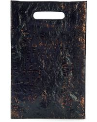 Raf Simons - Metallic Two Toned Tote Bag - Lyst