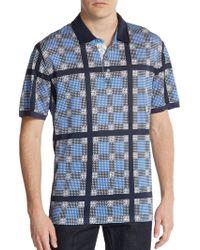 Robert Graham Savino Printed Polo Shirt - Lyst
