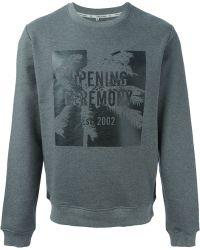 Opening Ceremony Printed Sweatshirt - Lyst