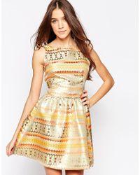 Madam Rage - Dress With Full Skirt - Lyst