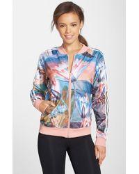 Adidas Originals 'Curso D'Agua' Print Track Jacket multicolor - Lyst
