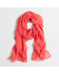 J.Crew Factory Lightweight Long Scarf - Lyst