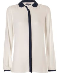 Tommy Hilfiger Daralis Long Sleeve Blouse - Lyst