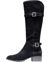 Cole Haan Indiana Waterproof Suede Tall Boot - Lyst