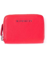 Givenchy Zipup Wallet - Lyst