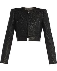 BCBGMAXAZRIA Duke Embroidered Jacket - Lyst