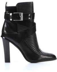 Rachel Zoe Black Leather Sanderson Ankle Boots - Lyst
