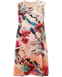 Mary Katrantzou Knipi Knitbar Dress Anthozoa Sunset orange - Lyst