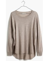 Madewell Northstar Pullover Sweater - Lyst