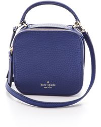Kate Spade Bobi Cross Body Bag Vivid Snapdragon - Lyst