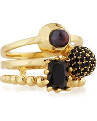 Eddie Borgo - Joined Collage Stack Ring - Lyst