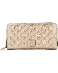 Juicy Couture - Continental Zip Wallet in Metallic Gold - Lyst