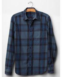 Gap Tudor Plaid Shirt - Lyst