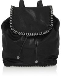 Stella McCartney Falabella Faux Brushedleather Backpack - Lyst