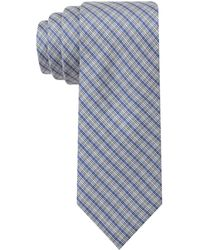 Calvin Klein Steel Salt and Pepper Cheeks Ii Skinny Tie - Lyst