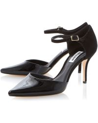 Dune Claudia Two Part High Court Shoes - Lyst