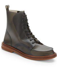 Maison Martin Margiela Plastic Combat Boots - Lyst