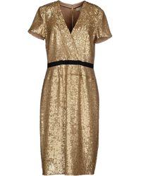 Burberry London Knee-Length Dress - Lyst